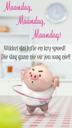 Pig Wallpaper, Cute Piglets, Pig Drawing, Pig Illustration, Afrikaanse Quotes, Goeie Nag, Goeie More, Happy Birthday Greetings, Little Pigs