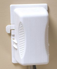 Look what I found on #zulily! White Outlet Plug Cover - Set of Two by KidCo #zulilyfinds