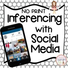 Inferencing with Social Media - No Print {Free for 48 hours}