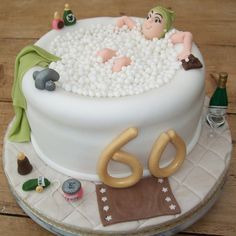 Another bath cake.