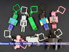 10pcs/lot 2015 juguetes minecraft toys PVC action figure set keychain best kids toys for boys brinquedos-in Action & Toy Figures from Toys & Hobbies on Aliexpress.com | Alibaba Group