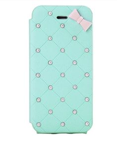 princess style pearl bow knot protective phone case for iPhone 5 iPhone 4 leather sideways flip phone case friendship love gifts trending Iphone 4, Iphone Cases, Friendship Love, Personalized Phone Cases, Flip Phone Case, Cute Cases, Princess Style, Computer Technology, Love Gifts