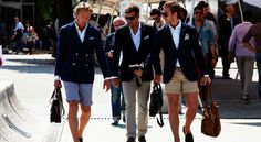 """From the article - In Italy, arguably the cradle of menswear culture, this mentality was lived out daily, through the tradition of la passeggiata, or """"the walk,"""" wherein gents would casually stroll together, regaled in their finest garb, through the town's central piazza. Sure, the intention was to project a finely crafted image to society, but it was equally about turning the head of a finely crafted lady. The passeggiata was both appreciation of the allure of style and the most elegant and…"""