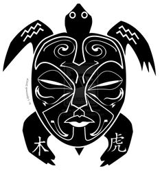 55 Cool turtle tattoo designs, photos and ideas. Do you know the symbolic meaning of turtle tattoos? Check out these tribal, Polynesian, Hawaiian and sea turtle designs. Hawaiian Turtle Tattoos, Hawaiian Tribal, Hawaiian Art, Turtle Tattoo Designs, Polynesian Tattoo Designs, Tribal Turtle, Turtle Love, Tribal Chest Tattoos, Clay Turtle