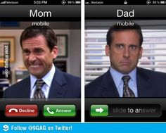 When Mom Calls vs When Dad Calls