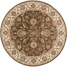 Featuring a bordered oriental design and smooth coloring, the Artistic Weavers Middleton Charlotte Rug radiates both opulence and classic charm in any room of your home. This handcrafted wool rug upholds timeless elegance and design. Oriental Print, Oriental Design, Target Rug, Traditional Area Rugs, Round Area Rugs, Throw Rugs, Beige Area Rugs, Rug Runner, Rug Size