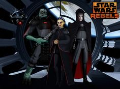 star wars rebels ashoka | Meet your Inquisitors (Star Wars Rebels Fan Art) by Brian-Snook