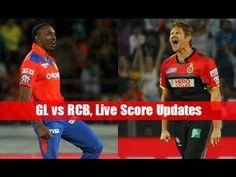 IPL 2017 RCB vs GL Live Match || RCB vs GL Playing XI || GL vs RCB LIve ...