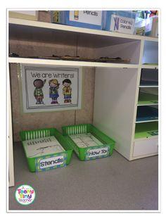 How-To-Draw Writing Center Writing Center Kindergarten, 1st Grade Writing, Work On Writing, Kindergarten Writing, Pre Writing, Writing Workshop, Teaching Writing, Writing Skills, Writing Ideas