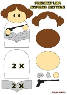 DIY and FREE printables inspired by movies holliday's just about anything a - Star Wars Ewok - Ideas of Star Wars Ewok - DIY and FREE printables inspired by movies holliday's just about anything all made and designed by me Poppy. Star Wars Party, Star Wars Birthday, Felt Patterns, Sewing Patterns Free, Molde Star Wars, Natal Star Wars, Star Wars Weihnachten, Anniversaire Star Wars, Star Wars Crafts
