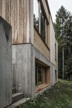 Restrained opening – conversion of a residential building in Zell am See – Architektur - architecture house Houses Architecture, Architecture Portfolio, Residential Architecture, Architecture Details, Interior Architecture, Stadium Architecture, Concrete Architecture, Architecture Graphics, Minimalist Architecture