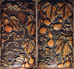 Case (Inrô) with Design of Gourd Vine Period: Edo period (1615–1868) Date: 19th…