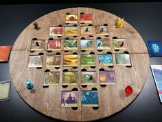 Forbidden Island laser cut game board to hold the by DaftConcepts