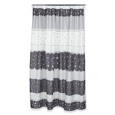 Marimekko Bathroom - Shower Curtain - Jurmo 990 Grey