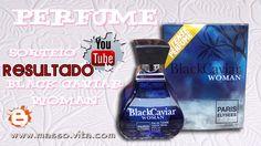 Masso Vita: Resultado do sorteio Perfume Black Caviar