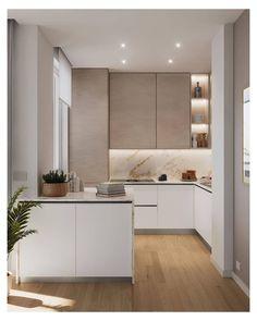 Kitchen Room Design, Kitchen Cabinet Design, Modern Kitchen Design, Home Decor Kitchen, Interior Design Kitchen, Home Kitchens, Kitchen Ideas, Grey Kitchens, Interior Modern
