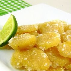 Homemade Ginger Ale and Candied Ginger