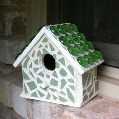 My little mosaic birdhousemichael