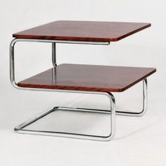 Located using retrostart.com > K 407 Coffee Table by Unknown Designer for Mücke Melder