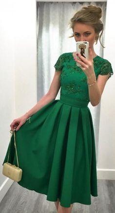 Sexy Short Green Backless Satin Prom Dress , #Short Homecoming Dress#HomecomingDresses#Short PromDresses#Short CocktailDresses#HomecomingDresses