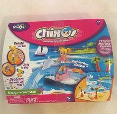NEW Pixos CHIXOS Design A Surf Star Playset 250 Pixos  | eBay