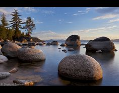 Those rocks...                                                Summer Evening - Chimney Beach, Lake Tahoe, Nevada, USA