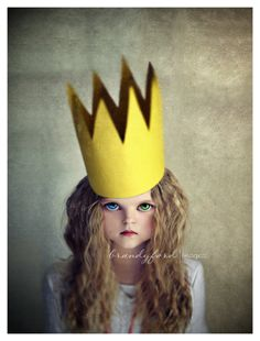 Princess B Photo Crown Doll Scary Fantasy by BitsofLifeImages, $30.00
