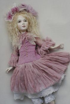 artist doll by Olga Sukach