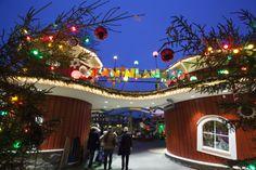X-Mas-Market in the amusement park *Liseberg* in Gothenborg (Sweden).