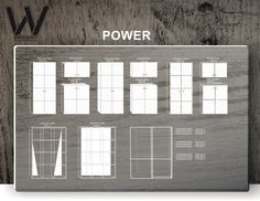 """High-class cupboard and portable private workplace concepts from Woost """"POWER"""" collection. Different materials, textures and colours are available. Let us know what you think."""