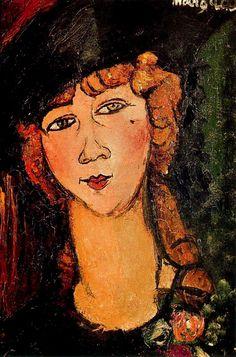 Amedeo Modigliani-Lolotte