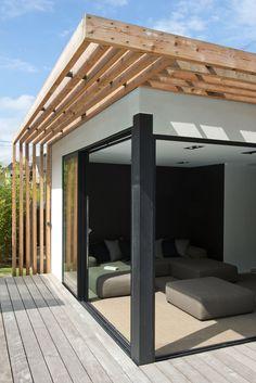 Pergola Designs, Patio Design, Exterior Design, House Design, Outdoor Pergola, Back Patio, Beach House Decor, Architecture Details, Villa