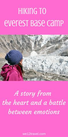 """Big Girls Don't Cry"" is what they say - I recently hiked to Mount Everest Base Camp in Nepal and this 15 day journey resulted in a battle between emotions and one of my biggest adventures so far..."