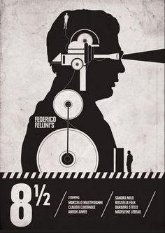 8½, directed by Federico Fellini, 1963