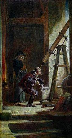 Carl Spitzweg  The Astrologist