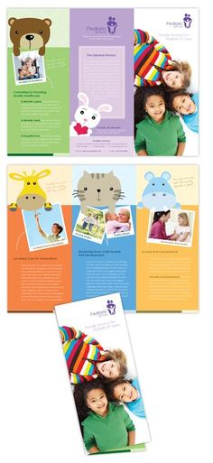 Free Child Care Flyer Templates | Early Learning Preschool Flyer