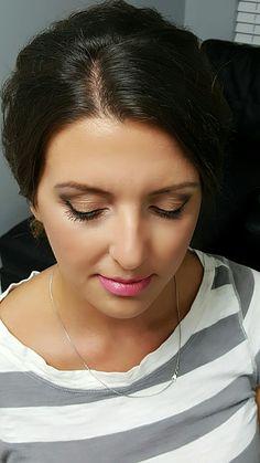Beautiful soft bridal makeup