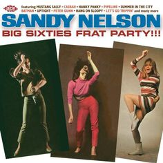 The latest in our series of limited edition CD releases features another fabulous collection of hot-rockin, foot-stompin, feel-good instrumentals from drum maestro Sandy Nelson. ,h The CD has been com