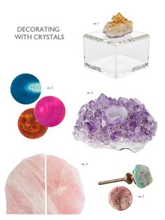 How to decorate your home with crystals