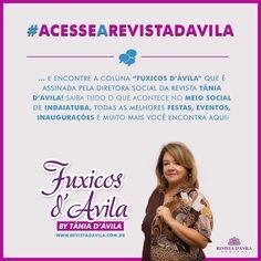 #AcesseARevistaDavila e encontre a Coluna Social assinada por Tânia D'Ávila e fique por dentro de todas as novidades sobre o meio social de Indaiatuba! . #TaniaDavila #FuxicosDavila #Indaiatuba . Acesse http://ift.tt/1UOAUiP . #anuncieaqui #blogindaiatuba #blogvariedades #campinas #colunas #colunasocial #facapartedessetime #indaiatuba #informações #itu #itupeva #midiavirtual #noticias #revistadavila #revistadevariedade #revistadigital #revistaeletronica #revistaindaiatuba…