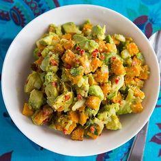 Roasted Pumpkin Guacamole