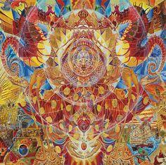 White Orange #psychedelicmindscom psy-minds.com