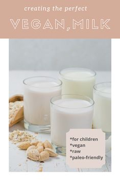 Are you looking for delicious healthy milk recipes that satisfy all your cravings while being dairy-free, plant-based and nutritious? Milk Recipes, Raw Food Recipes, Healthy Milk, Face Health, Plant Based Milk, Raw Vegan, Cravings, Dairy Free, Remedies