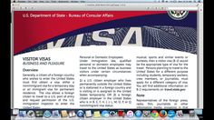 How to apply for a Visitor Visa to the United States- B1/B2 Visa Applica...