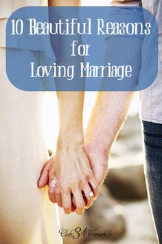 So much to LOVE!! Marriage isn't only about a lot of hard work. It can be rich and lovely and satisfying too. Here are 10 Beautiful Reasons For Loving Marriage ~ Club31Women