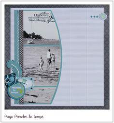 DT Toga - Page Prendre le temps - Aurel Wedding Scrapbook, Scrapbook Cards, Scrapbook Designs, Scrapbook Layouts, Scrapbooking Ideas, Mini Albums, Grandes Photos, Craft Stash, Photo Layouts