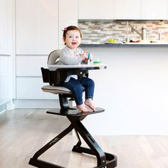 Scandinavian Child Svan Signet Complete High Chair with Option Seat Cushion - High Chairs at Hayneedle