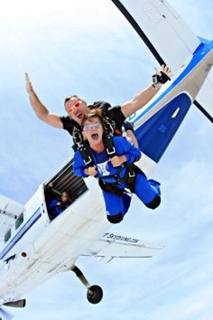 I've personally jumped with this man! Go skydiving at Startskydiving.com they are amazing!
