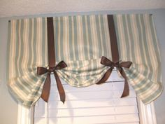 """Window """"Mistreatment"""" Party - easy shortcut way to get nice curtains"""