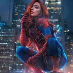 Pop Art Drawing, Challenges Funny, Spider Girl, Marvel Cosplay, Cute Cartoon Wallpapers, Super Hero Costumes, Marvel Heroes, Marvel Dc, Photo Manipulation